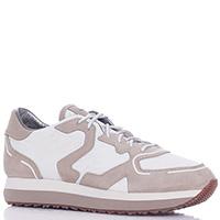 Кроссовки Alberto Guardiani с плащевыми вставками, фото