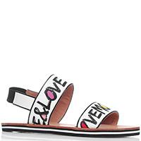 Сандалии Love Moschino с принтом-логотипом, фото