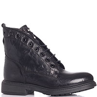 Черные ботинки Nila&Nila с декором-молнией, фото