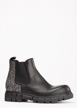 Черные ботинки-челси Fru.It Now на массивной подошве, фото