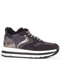 Утепленные кроссовки Voile Blanche серого цвета, фото