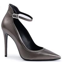 Туфли Deimille из кожи серого цвета, фото