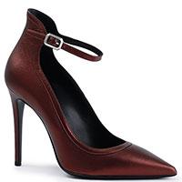 Коричневые туфли Deimille с ремешком, фото