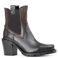 Черные ботинки Laura Bellariva с квадратным носком, фото
