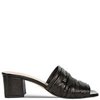Черные мюли Prima на низком каблуке, фото