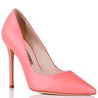 Туфли-лодочки Gianni Renzi Renzi розового цвета на высокой шпильке, фото
