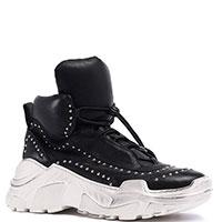 Черные кроссовки Fru.It с декором, фото