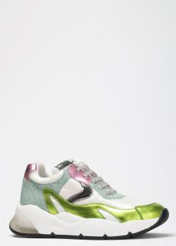 Женские кроссовки Voile Blanche Dumbil с цветными вставками, фото