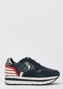 Синие кроссовки Voile Blanche на платформе, фото
