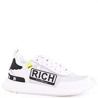 Белые кроссовки John Richmond с прозрачными вставками, фото