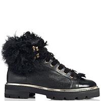 Черные ботинки Camerlengo с декором, фото