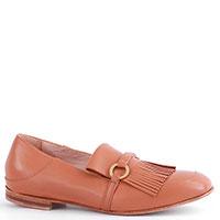 Туфли-лоферы Camerlengo коричневого цвета, фото