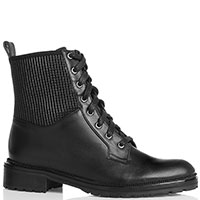 Женские ботинки Sofia Baldi из черной кожи, фото