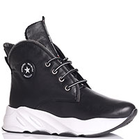 Ботинки черного цвета Tine's в спортивном стиле, фото