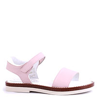 Розовые сандалии Tine's на липучке, фото