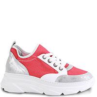 Красные кроссовки Tine's с контрастными вставками, фото