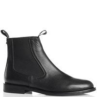 Черные ботинки-челси Sofia Baldi из гладкой кожи, фото