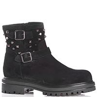Черные ботинки Albano с декором-шипами, фото