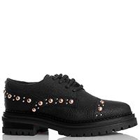 Черные туфли Stokton с декором-заклепками, фото