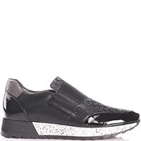 Черные кроссовки Mot-Cle без шнуровки, фото