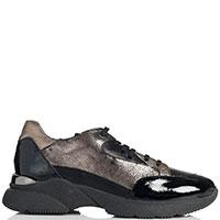 Женские кроссовки Mot-Cle с лаковыми вставками, фото