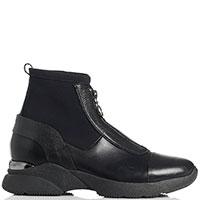Черные ботинки Mot-Cle с эластичным чулком, фото