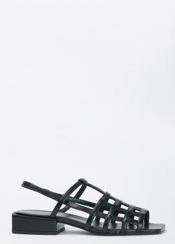 Черные босоножки Vic Matie с квадратным носком, фото