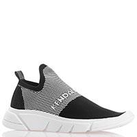 Черно-белые кроссовки Kendall+Kylie для бега, фото