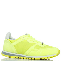 Легкие кроссовки Liu Jo ярко-желтого цвета, фото
