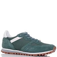 Зеленые кроссовки Liu Jo с декором на шнуровке, фото