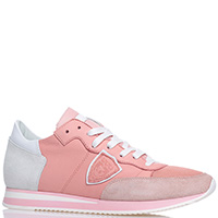 Кроссовки Philippe Model розового цвета, фото