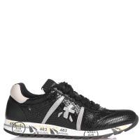 Кроссовки Premiata с тиснением кроко, фото
