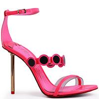 Розовые босоножки Merlyn Shoes с закрытой пяткой, фото