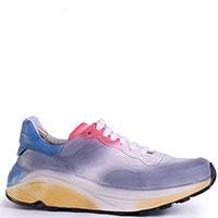 Женские кроссовки Officine Creative на массовной подошве разноцветные, фото