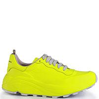 Женские кроссовки Officine Creative ярко-желтого цвета, фото