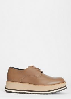 Женские туфли-дерби Paloma Barcelo Perpignan на платформе, фото