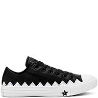 Черно-белые кеды Converse Chuck Taylor All Star Zig-Zag Ox, фото