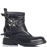 Женские ботинки Fru.it с декором-стразами, фото