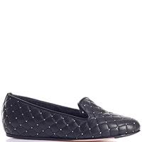 Стеганные туфли Le Silla с декором заклепками, фото