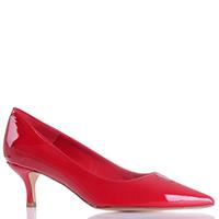 Красные туфли-лодочки Bianca Di с острым носком, фото