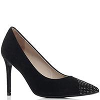 Черные туфли Loriblu с декором-стразами, фото