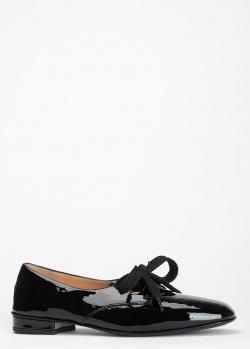 Лаковые туфли Giovanni Fabiani черного цвета, фото