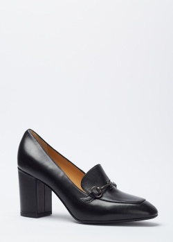 Туфли из кожи Giovanni Fabiani с фирменным декором, фото