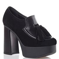 Черные туфли Tiffi с кисточками, фото