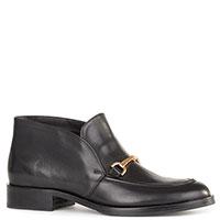 Ботинки Helena Soretti из кожи черного цвета, фото