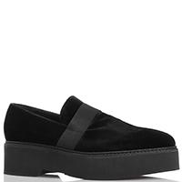 Текстильные черные туфли Fru.It Now на толстой подошве, фото