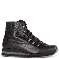 Черные ботинки Marzetti на меху, фото