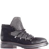 Ботинки Fru.It Now черного цвета со стразами, фото