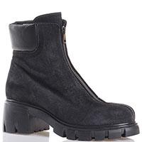 Ботинки Fru.It Now на устойчивом каблуке черного цвета, фото