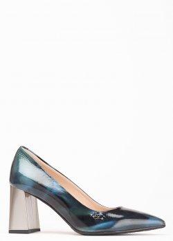 Туфли-лодочки Ilasio Renzoni на устойчивом каблуке, фото